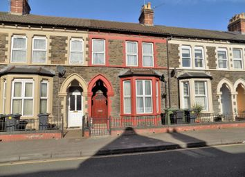 Thumbnail 4 bed terraced house for sale in Ninian Park Road, Cardiff
