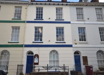Thumbnail 1 bed flat to rent in Richmond Road, Exeter