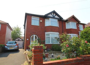 Thumbnail 3 bed semi-detached house for sale in Burton Grove, Worsley, Manchester