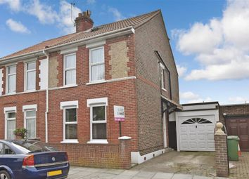 Thumbnail 3 bed semi-detached house for sale in Locksway Road, Southsea, Hampshire