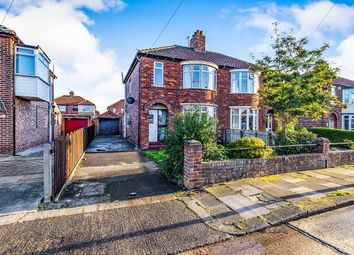 Thumbnail 3 bed semi-detached house for sale in Derwentwater Avenue, Middlesbrough
