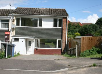 Thumbnail 3 bed end terrace house to rent in Churchill Drive, Sudbury
