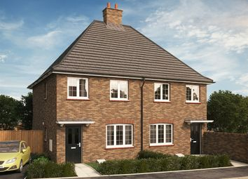 "Thumbnail 3 bedroom semi-detached house for sale in ""The Millbrook V1"" at Park Crescent, Stewartby, Bedford"