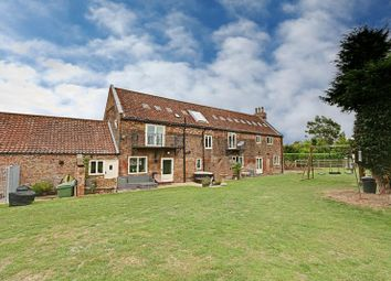 Thumbnail 5 bed barn conversion for sale in Wold Road, Barrow-Upon-Humber