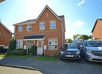 Thumbnail 2 bed semi-detached house for sale in Skinner Avenue, Upton, Northampton