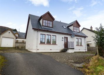 Thumbnail 4 bed detached house for sale in Monemore, Killin, Stirling