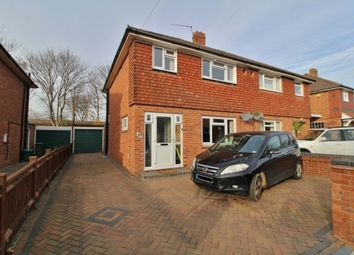 Thumbnail 3 bed semi-detached house for sale in Nutbourne Road, Farlington, Portsmouth