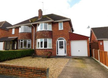 Thumbnail 3 bed semi-detached house for sale in Salisbury Road, Stafford