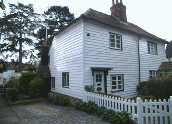 Thumbnail 2 bed semi-detached house for sale in West Dene, Park Lane, Cheam, Sutton