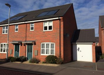 Thumbnail 3 bed semi-detached house for sale in Prestbury Road, Duston, Northampton