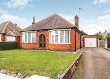 Thumbnail 2 bed detached bungalow for sale in Northdown Drive, Thurmaston, Leicester