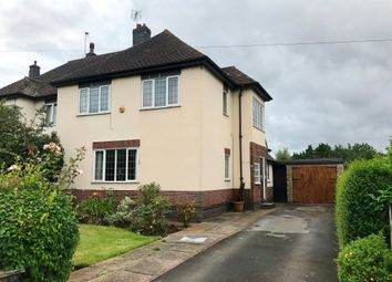 Thumbnail 4 bed semi-detached house for sale in Eastwood Drive, Littleover, Derby