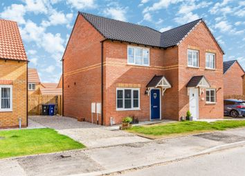 Thumbnail 2 bed semi-detached house for sale in Barrier Mews, Stainforth, Doncaster