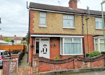 Thumbnail 3 bed end terrace house for sale in Harcourt Road, Gosport