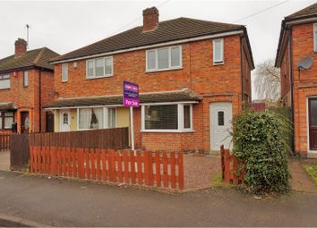 Thumbnail 3 bed semi-detached house for sale in St. Marys Avenue, Leicester