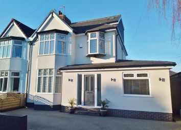 Thumbnail 4 bed semi-detached house for sale in Greenwood Road, Mossley Hill, Liverpool