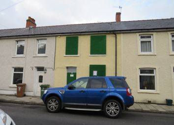 Thumbnail 2 bed terraced house for sale in Cambrian Street, Deri, Bargoed