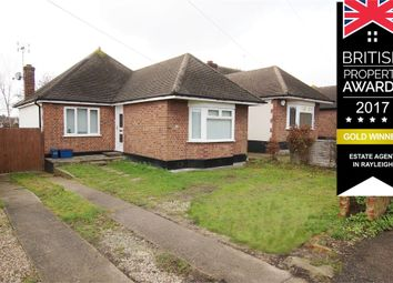 Thumbnail 2 bed detached bungalow for sale in Whitehouse Road, Deceptively Spacious, Eastwood, Leigh-On-Sea, Essex