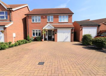 Thumbnail 4 bed detached house for sale in Berkeley Court, Scartho Top, Grimsby