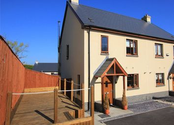 Thumbnail 3 bed semi-detached house for sale in Coppins Park, Pentlepoir, Saundersfoot