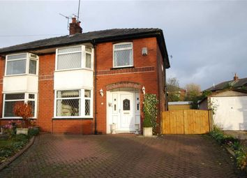 Thumbnail 3 bed semi-detached house for sale in Hazelwood Drive, Bury, Greater Manchester