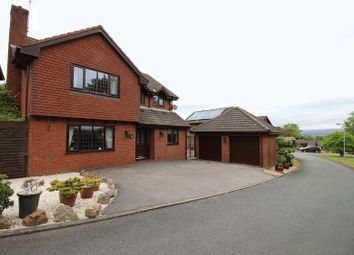 Thumbnail 5 bed detached house for sale in The Heights, Leek, Staffordshire