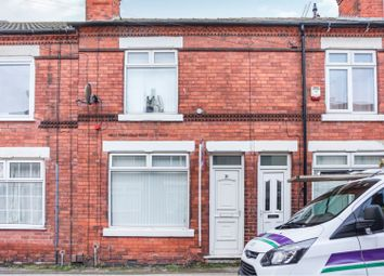 Thumbnail 2 bed terraced house for sale in Spencer Street, Mansfield