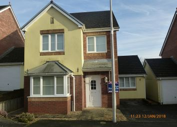 Thumbnail 4 bed detached house for sale in Parc Fferws, Ammanford, Carmarthenshire.