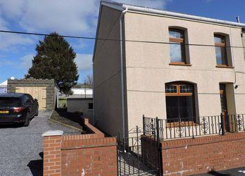 Thumbnail Semi-detached house for sale in Chapel Street, Upper Brynamman, Ammanford