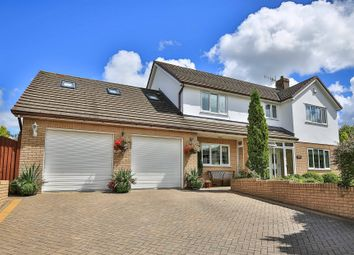 Thumbnail 4 bed detached house for sale in Gellideg Lane, Maesycwmmer, Hengoed