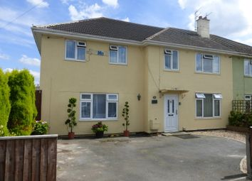 Thumbnail 5 bed semi-detached house for sale in Elmleaze, Longlevens, Gloucester