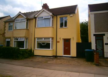 Thumbnail 3 bedroom semi-detached house for sale in Old Church Road, Coventry
