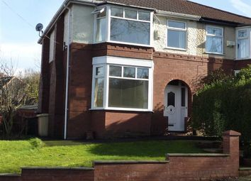 Thumbnail 3 bed semi-detached house to rent in Temple Road, Bolton, Bolton