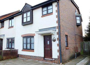 Thumbnail 3 bedroom end terrace house to rent in Vallis Close, Baiter Park, Poole