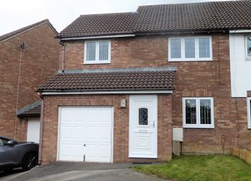 Thumbnail 3 bed end terrace house for sale in Davis Avenue, Bryncethin, Bridgend.