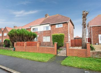 Thumbnail 4 bed semi-detached house for sale in Western Avenue, Seaton Delaval, Whitley Bay, Northumberland