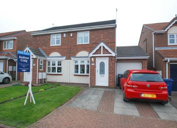 Thumbnail 2 bed semi-detached house for sale in Beacon Glade, South Shields