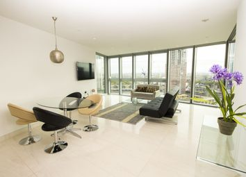 Thumbnail 1 bed flat to rent in St. George Wharf, Vauxhall, London