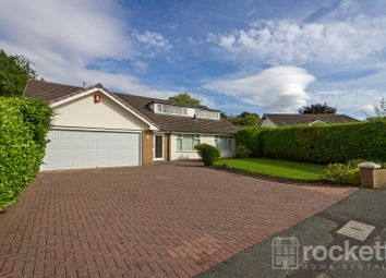 Thumbnail 5 bed detached bungalow to rent in Naples Drive, The Westlands, Newcastle - Under - Lyme, Staffordshire