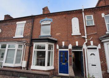 Thumbnail 2 bedroom terraced house for sale in Wyggeston Street, Burton-On-Trent
