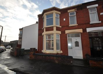 Thumbnail 3 bed end terrace house for sale in Harcourt Avenue, Wallasey