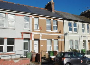 Thumbnail 3 bed terraced house to rent in Trelawney Avenue, Plymouth