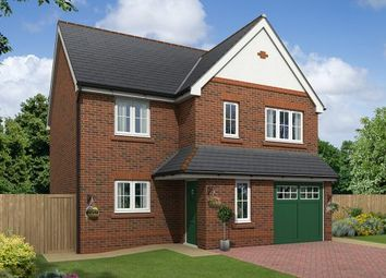 Thumbnail 4 bed detached house for sale in The Alston, Off Boundary Park, Neston, Cheshire