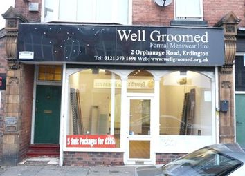 Thumbnail Retail premises to let in Orphanage Road, Birmingham