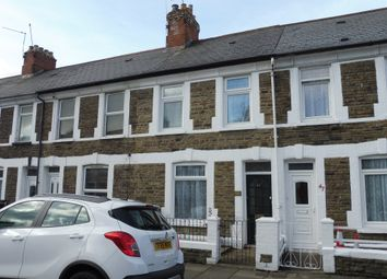 Thumbnail 2 bedroom terraced house for sale in Arabella Street, Roath, Cardiff