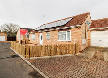 Thumbnail 3 bed semi-detached bungalow for sale in Dogsthorpe Grove, Peterborough