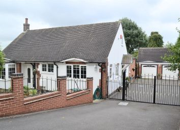 Thumbnail 3 bed detached bungalow for sale in Newhall Road, Swadlincote