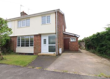 Thumbnail 3 bed semi-detached house for sale in Highfield, Pollington, Goole