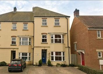 Thumbnail 4 bedroom end terrace house for sale in Broadview Close, Kingsnorth, Ashford