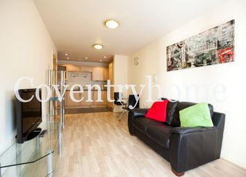 Thumbnail 1 bed flat to rent in Fairfax Street, Coventry